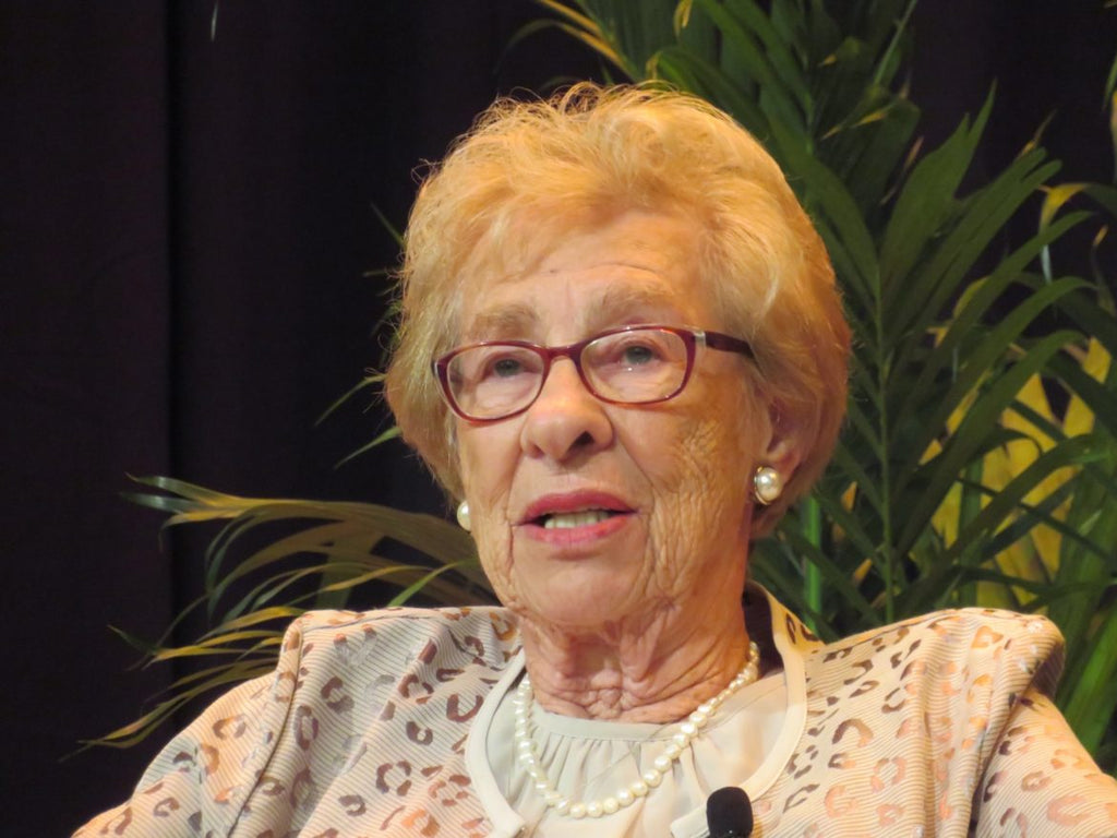 Eva Schloss holocaust survivor stepsister to Anne Frank