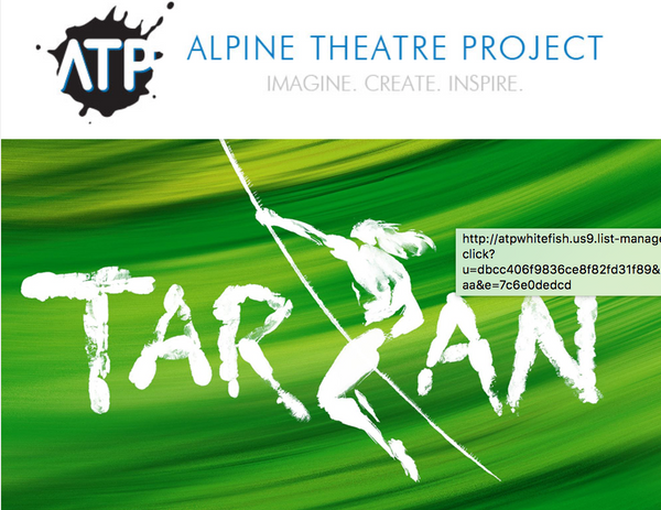 Alpine Theatre Projects presents