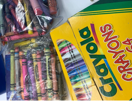 Free art kits available at Hockaday Museum