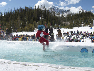 Big Sky Ski Resort celebrates ski season with annual pond skim