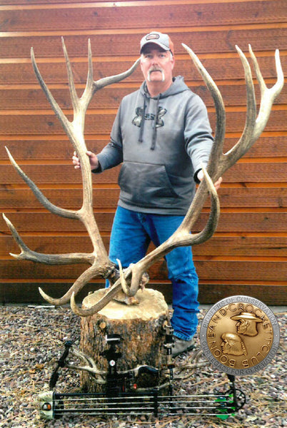 Bow hunter shoots world record elk