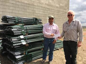 Farmers step in to help with fencing
