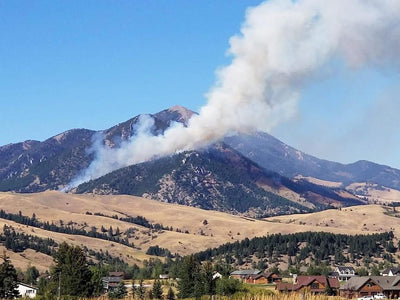 Bridger Foothills Fire near Bozeman forces evacuations