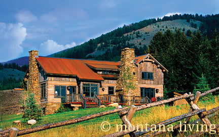 Bridger Steel brings rustic look to new homes