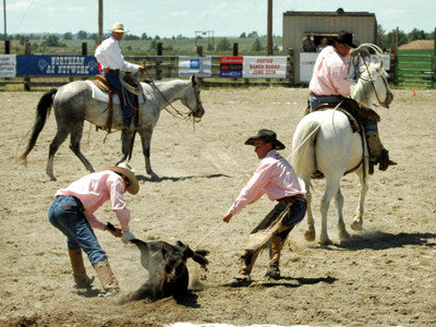 The Custer Ranch Rodeo is a way to see cowboys in action