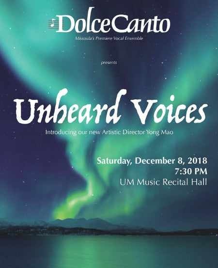 dolce canto missoula singer group, unheard voices, montana living