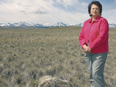 Elouise Cobell fights for native Americans