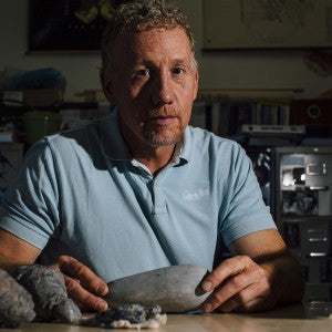 Paleontologist featured in New York Times story