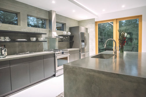 NuWest Builders makes a statement with concrete