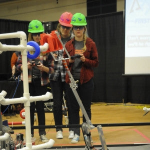 Youth robotics competition in Bozeman
