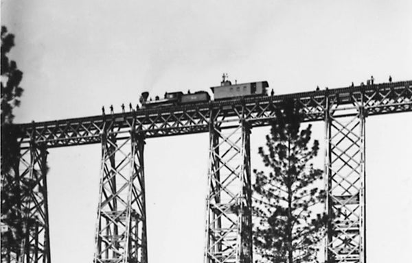 Looking Back: historic train trestle
