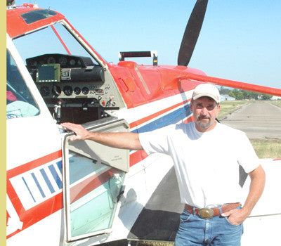 My Montana Farmer TV: Crop duster Mike Campbell