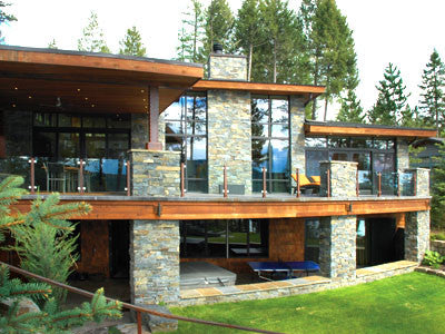 Montana's Finest Homes TV: A contemporary home on Whitefish Lake