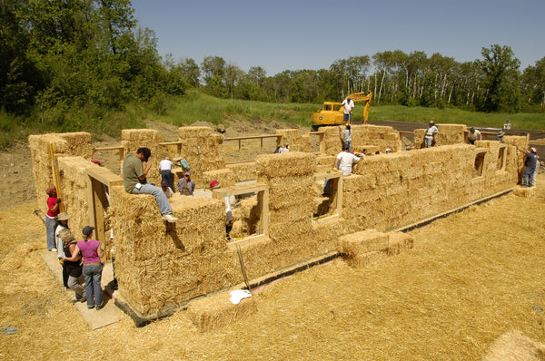 One Straw Bale at a Time: building sustainable homes