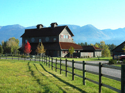 Montana's Finest Homes: A classic remodel of a barn in Bigfork, Montana