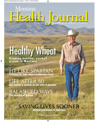 Montana Health Journal spring  2016