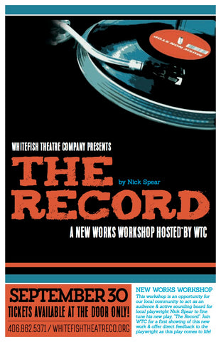 nick spear the record whitefish theatre company