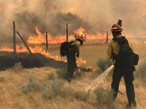 miles city lodgepole complex firefighters