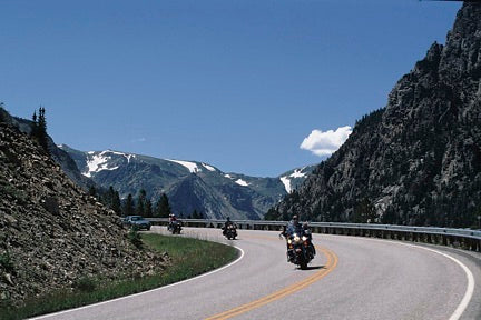 Motorcycling Montana's Beartooth Highway