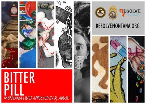 Bitter Pill: art exhibit fights prescription drug abuse in Montana