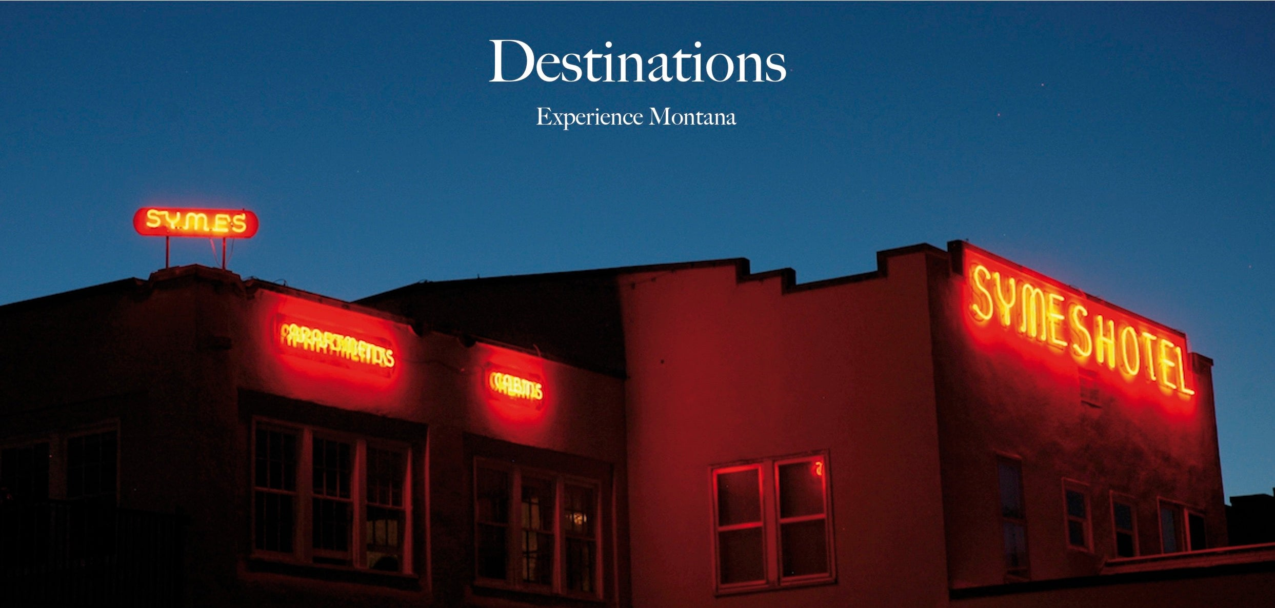 Montana living destinations, symes hotel hot springs, romantic getaways, vacations