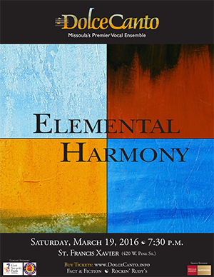 Dolce Canto Presents: Elemental Harmony