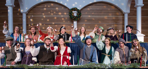 The 54th annual MSU School of Music production transports contemporary guests to a Renaissance feast in a great baronial hall. Members of the MSU choral groups become knaves and wenches who perform the traditional carols sung for centuries during the 12 days of Christmas. The performance is produced by the American Choral Directors Association Student Chapter, a registered MSU student organization.
