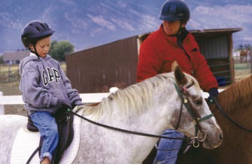 Riding for life danmore stables horseback therapy montana living