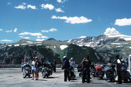 Motorcycling Montana's Beartooth Highway2