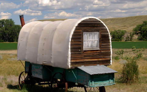 virgelle covered wagon