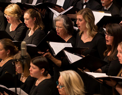Glacier symphony chorale with one voice, montana living
