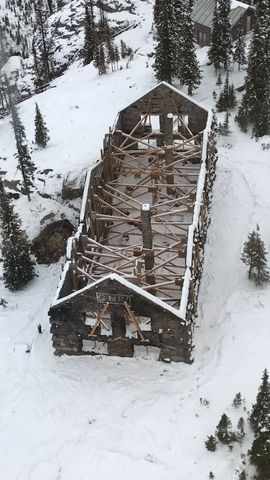 National Park Service Awards Contract to Dick Anderson Construction for First Phase of Sperry Chalet Construction, montana living