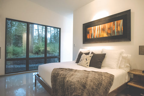 bedroom nuwest builders whitefish contemporary home montana's finest homes montana living