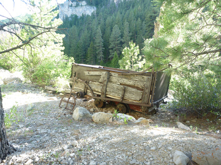 belt creek montana mining relic