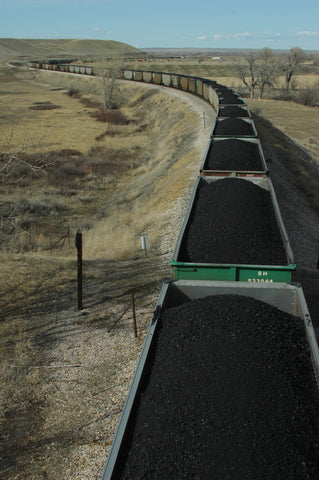 colstrip coal train