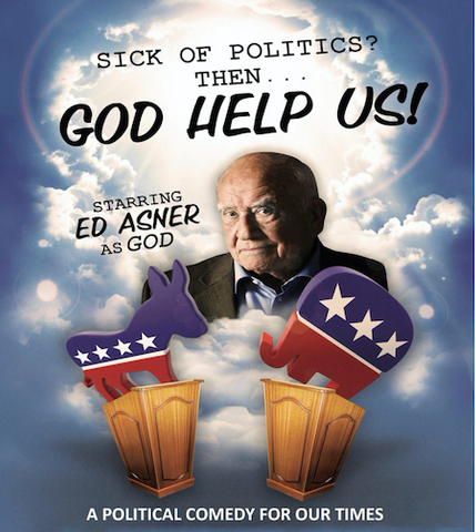 """ed asner play """"God help us"""" whitefish theatre company performing arts events july 2021, Montana Living"""