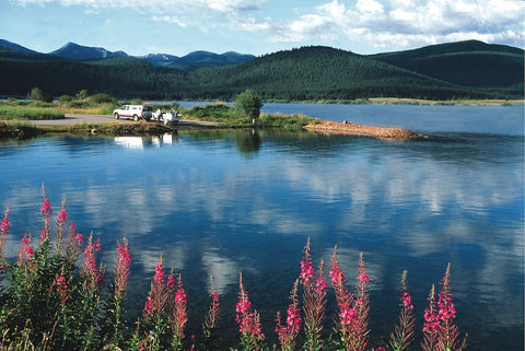 georgetown lake, pintler scenic highway route one, montana living great drives