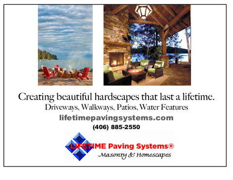 lifetime paving, montana living, paving contractors