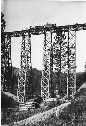 train history in montana, marent trestle, evaro hill, missoula railroad, montana living