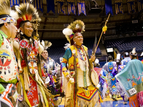The 41st annual Montana State University American Indian Council Powwow will be held March 25-26 at MSU's Brick Breeden Fieldhouse.  The MSU powwow is one of the largest in Montana. Powwow events are free and open to all.  The powwow begins at 6 p.m. Friday, March 25, with the grand entry. There will also be grand entries at noon and 6 p.m. on Saturday, March 26.  Dance and drum competitions with cash prizes are a key feature of the event.  Booths around the edge of the dance arena will offer the crafts of traditional artists and artisans.  The host drum group will be Young Bear from Fort Berthold Indian Reservation, Mandaree, North Dakota.  The head woman dancer is Alexa Long Knife, Assiniboine. Head man dancer is JC Pretty Paint, Crow.  The masters of ceremonies will be Kasey Nicholson, White Clay, and Jason Goodstriker, Kainai (Blood Tribe).  Arena directors are Devan Kicknosway, Walpole Island First Nation in southern Ontario, Canada. Co-arena director Dwayne Wesley, Stoney Tribes. The head dance judge is Cal Walks Over Ice, Crow. Head singing judge is Michael Spears, Lakota.  A Nation's Prayer Breakfast will be held at 8:30 a.m. Saturday, March 25, at MSU's Brick Breeden Fieldhouse. There will also be an MSU alumni brunch at 9:30 a.m. Saturday in the Hall of Fame Room of the Brick Breeden Fieldhouse. Denise Juneau, a 1993 MSU graduate and Montana Superintendent of Public Instruction, will deliver the keynote address. For more information, contact the MSU Alumni Foundation, (406) 994-2401, or email alumni@montana.edu.  The annual MSU Powwow Basketball Tournament will be held March 25-26. For more information, call Cheryl Polacek at 994-6114 or email powwowball@gmail.com.