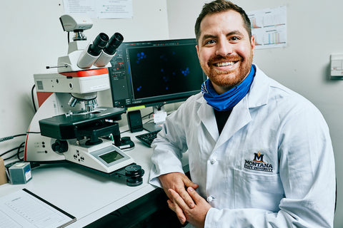 george schaible, msu microbial researcher, montana living