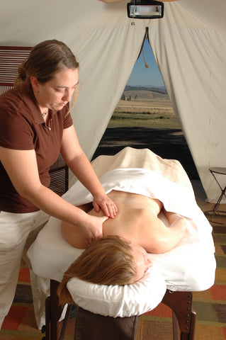 the resort at paws up, LIFESTYLE spa treatment, montana living, backcountry outfitter, ovando montana