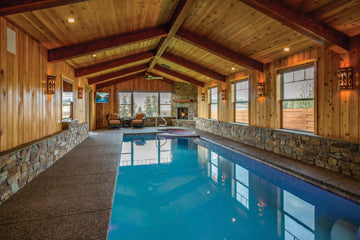 kalispell montana silverbrook development montana living montana's finest homes swimming pool interior