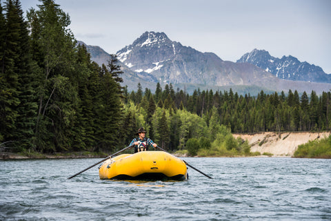 first descents kayaking rafting north fork of the flathead river, montana living, brad ludden