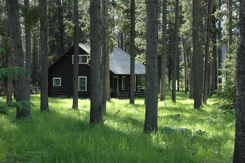 schafer meadows forest service cabin, upper middle fork of the flathead river, david reese montana living, wilderness fly fishing montana