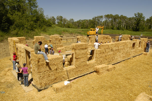 straw bale homes