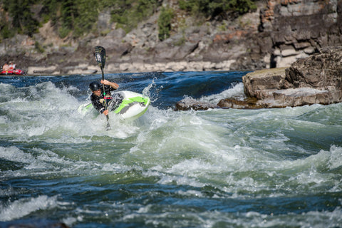 first descents kayaking clark fork river, montana living, brad ludden