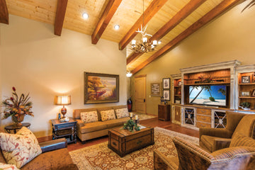 kalispell montana silverbrook development montana living montana's finest homes tv room