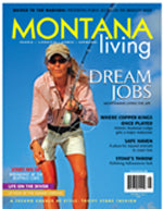 montana living magazine  cover