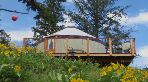SOMERS  YURT